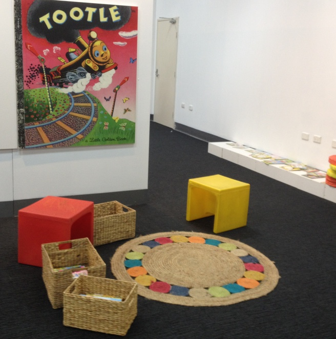 Little Golden Books Exhibition Liverpool City Library