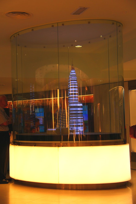 Malaysia's Twin Tower's observation deck has colourful displays, interactive displays and great city views.
