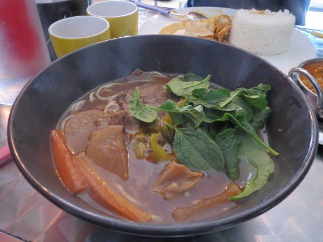 Manna Coffee Shop, Beef Noodle Soup, Adelaide
