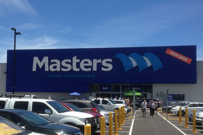 Masters Home Improvements at Adelaide Airport