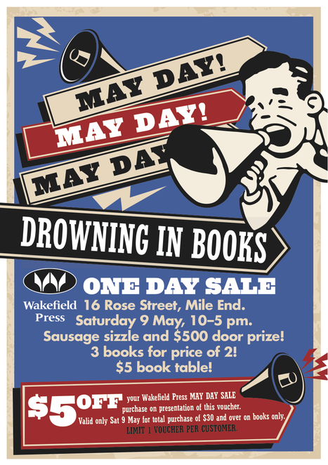 may day sale at wakefield press