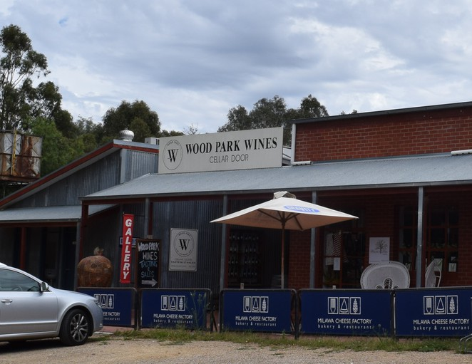 Milawa Cheese Factory, Muse Gallery, Wood Park Wines,Walnut Tree Cottages, Eucalypt Woodworks, Milawa Cheese Factory, Milawa, Bakery, Cafe, Restaurant