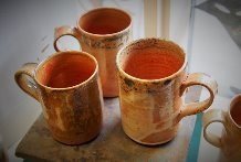 Mugs Day, pottery, ceramics, Milan rouge