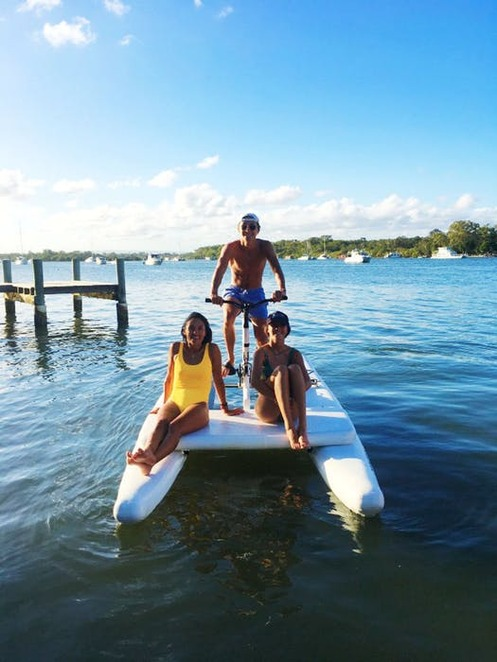 Nauticycle tour of the Noosa River, Noosa
