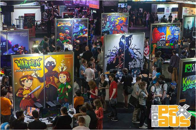 PAX Australia Exhibition Hall