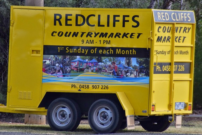 Red Cliffs Country Market, Sunraysia Country Markets, Red Cliffs, Big Lizzie