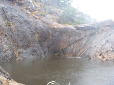 Serpentine, National, Park, Dam, Swimming, Cliff, Jumping