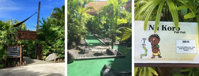 Shangri-La, Shangrila, Fiji, Viti Levu, Resort, Spa, mini golf, putt putt, kids, activities, fun, what to do, games, course, golf,