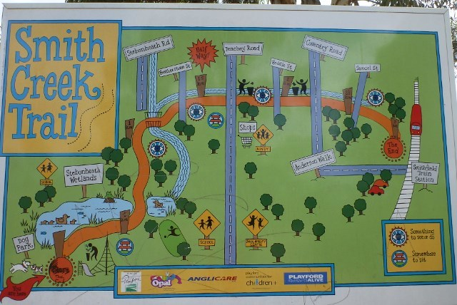 Smith Creek Trail, walks for families, northern suburbs, Adelaide, Playford Alive, playgrounds,