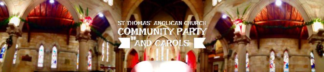 st thomas anglican church north sydney community party and carols party celebrate