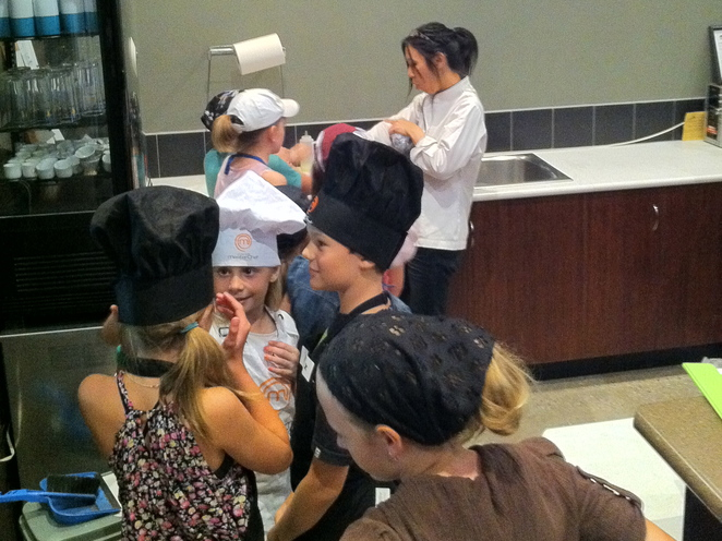 sushi class for kids, sushi workshop for kids