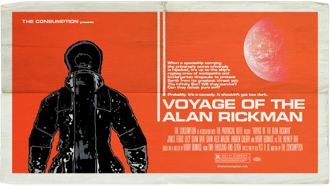 The Consumption, Voyage of the Alan Rickman, Melbourne Comedy Festival