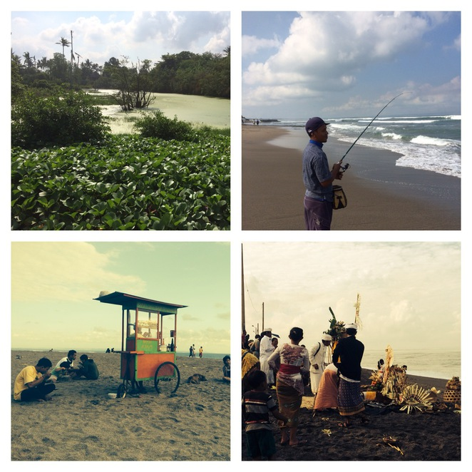 Things you'll see on the beach at Canggu