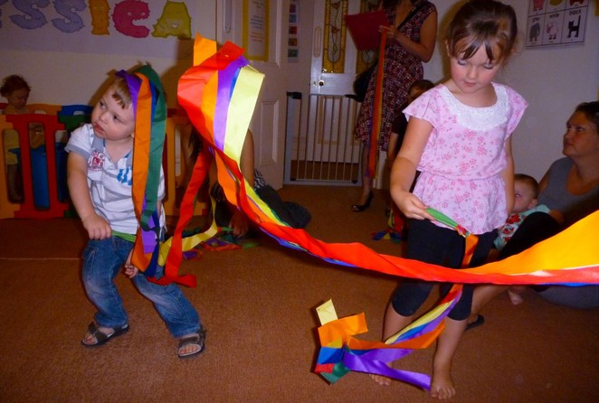 Toddler Craft Music and Dance