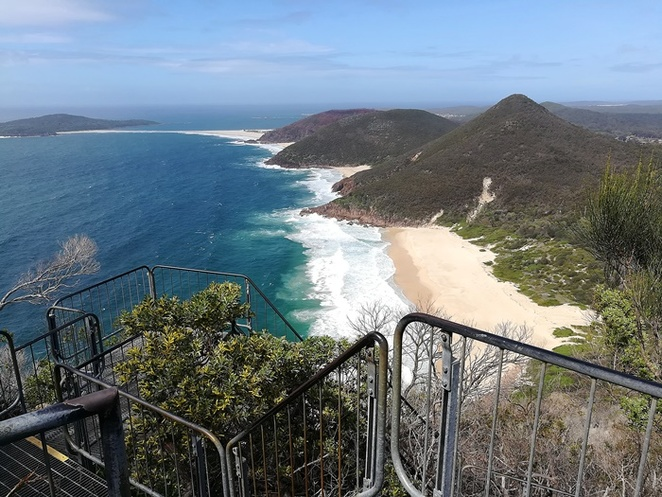 tomaree head summit walk, tomaree head walk, tomaree walk, tomaree national park, tomaree mountain, walk, port stephens, hikes, views, best lookouts, port stephens, shoal bay, nelson bay, zenith beach, NSW, tourist attractions, best walks around Nelson Bay, uphill hikes,