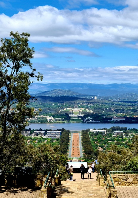 Views, free, Canberra, nature, lookout, family, Mt Ainslie