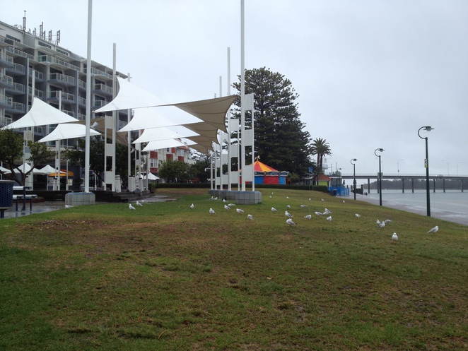 The waterfront at The Entrance