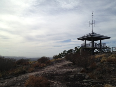Welcome to the summit of Mount Tinbeerwah