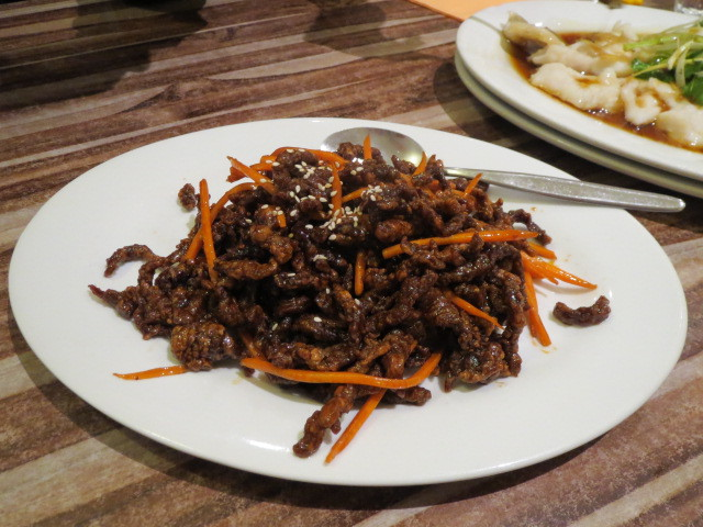 Ying Chow Restaurant, Deep Fried Shredded Beef, Adelaide
