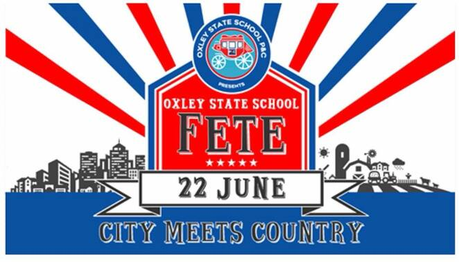 2019 oxley state school fete, community event, fun things to do, charity, fundraiser, oxley state school p&c association, market stalls, shopping, trash and treasure, city meets country, country style fete, side show alley, rides, sporting skills games, food and drink, largest bush dance, guinness world record attempt