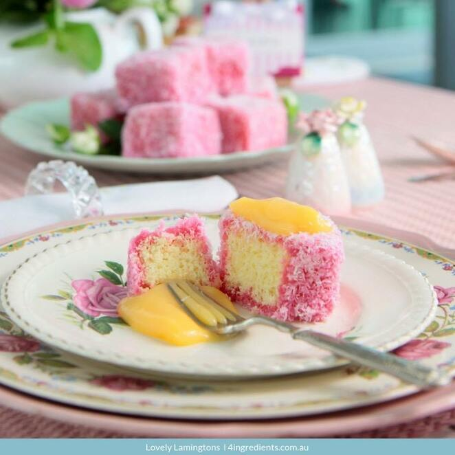 Biggest Morning Tea 2019 Image - 4 Ingredients.com.au margin=