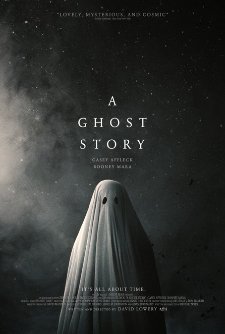 A Ghost Story, David Lowery, Casey Affleck, Rooney Mara, film, cinema, film review, existential, enigmatic, love, grief, experimental cinema, critically acclaimed, ghost iconography, time travel