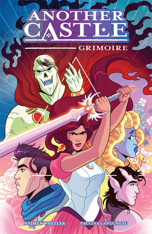 Another Castle Grimoire, Another Castle, princess comics, self rescuing princess, comics about princesses