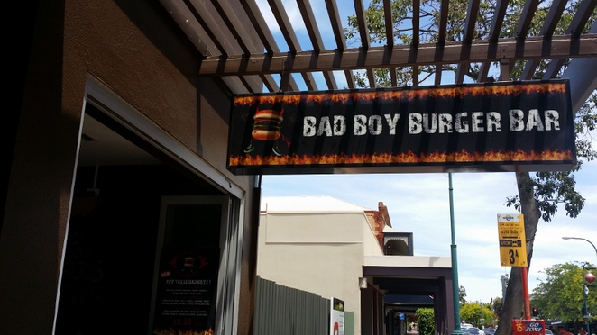 Bad Boy Burger Bar, Adelaide