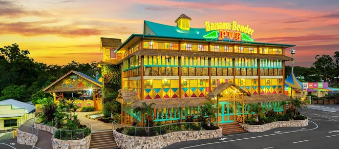 Banana Bender Pub, Palmview, Aussie World, quirkiest pub, uniquely Australian, eclectic decor, place of fun, Mango Bar & Grill, supports local business, new beer garden, exciting events, function venue, Christmas, birthdays, corporate, special occasion, perfect place for a catch-up