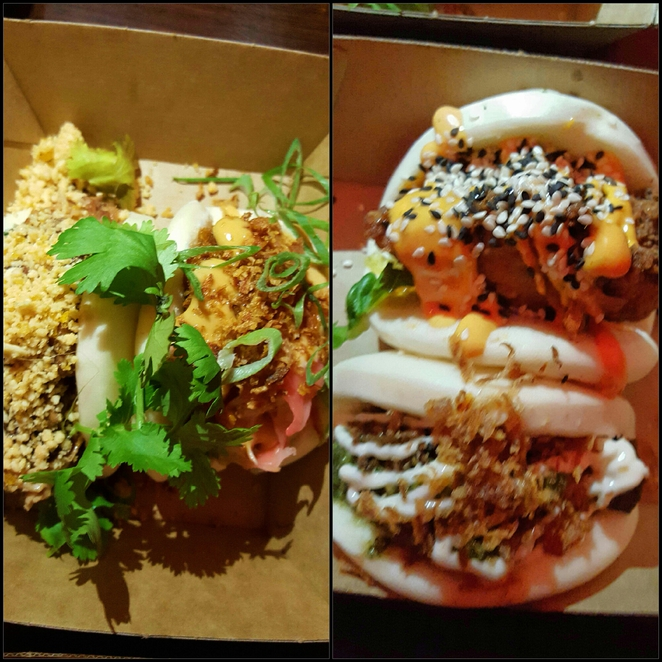 Bao, dinner, wine, food, street food, Newcastle