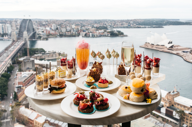 Blu Bar High Tea by Anna Polyviou at Shangri-La Hotel, Sydney