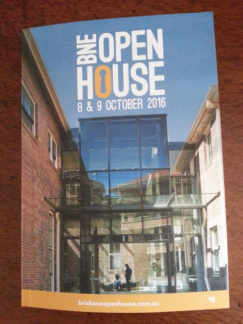 Brisbane Open House 2016,booklet