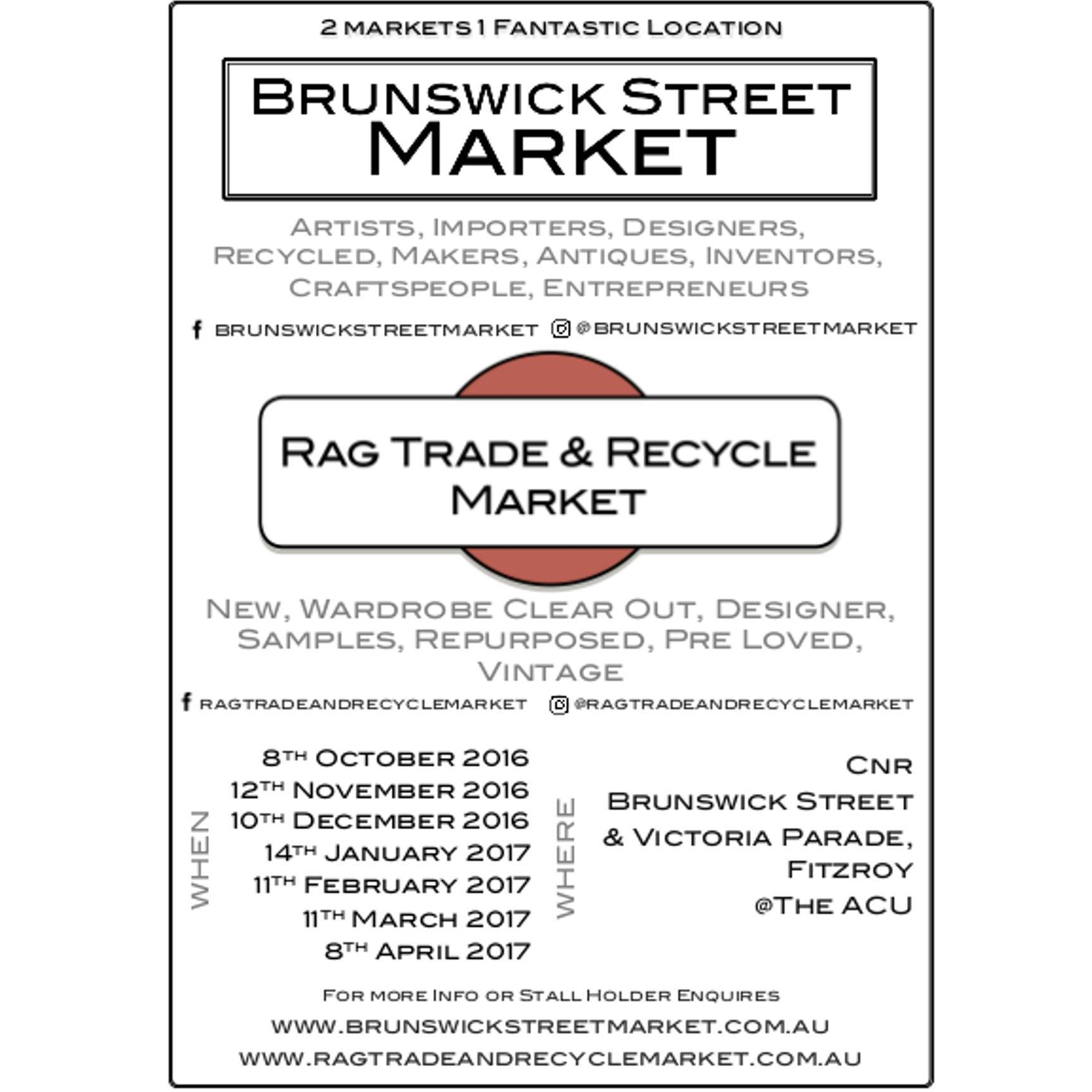 Brunswick Street Market, Rag Trade & Recycle Market