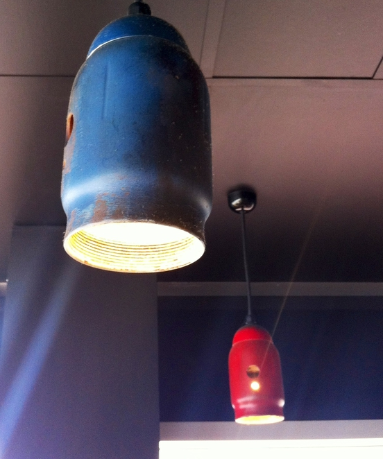 Burgastronomy, burger bars Adelaide, cafe interior design, industrial style lighting