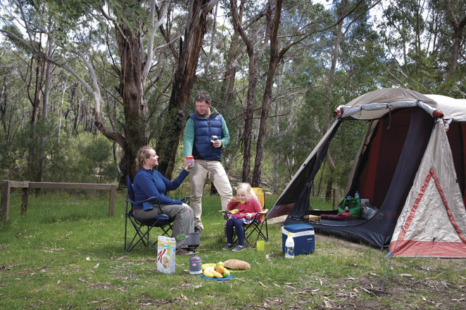 camping, parks victoria, parkstay, Wilsons Promontory