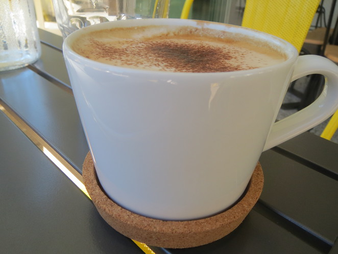Cappuccino @ The Chef's Daughter