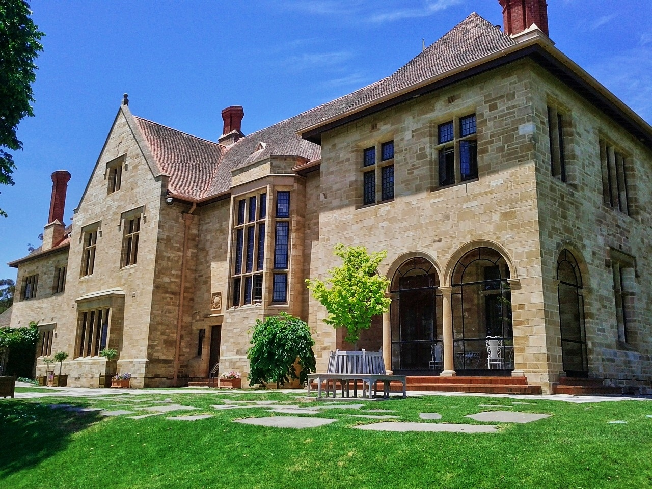 Carrick hill and the australian museum of gardening adelaide for Adelaide house