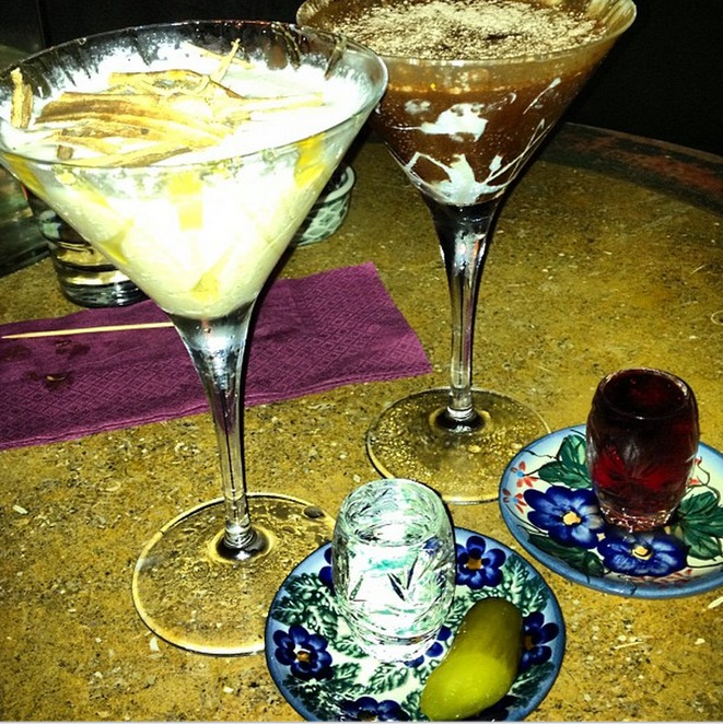cocktails, chocolate