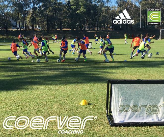 coerver coaching, canberra, school holiday programs, ACT, kids, teenagers, soccer skills, outdoor, exercise, 2018, april school holiday programs,