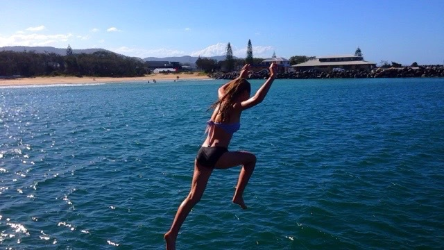 Coff's Harbour Jetty Jump, fun free things to do, fun free things in Coff's Harbour, things to do Coff's Harbour, Free things to do Coff's Harbour, Coff's Harbour attractions, What to do Coff's Harbour, adventure activities Australia, best spots NSW, things to see Coff's Harbour