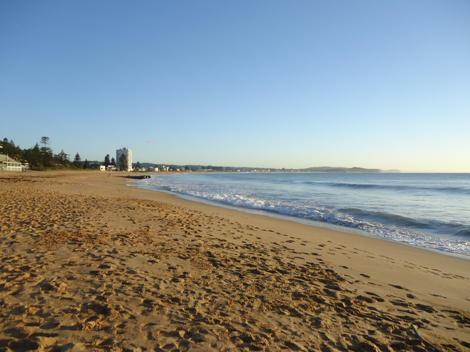 collaroy, beach, summer, sun, surf, early morning, northern beaches, nsw