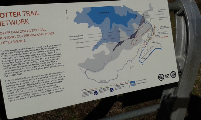 Cotter walks, discovery trail, canberra, ACT