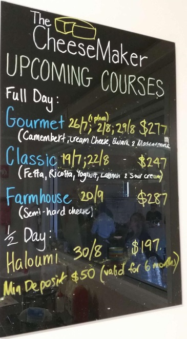 courses learn teach classes cheese gourmet brie camembert haloumi diy swan valley the cheese maker