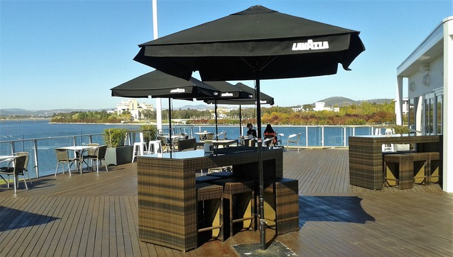 deck, regatta point, cafe, breakfast, lunch, commonwealth park, canberra, ACT