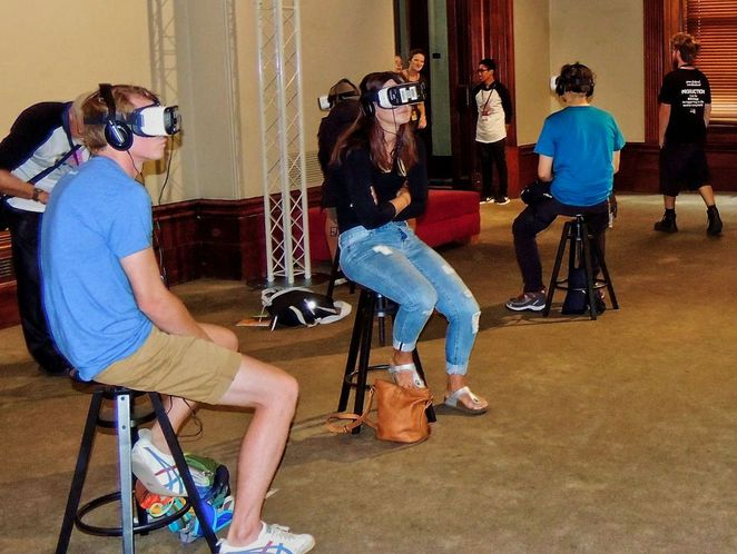 digital arcade, virtual reality, vr, institute building, state library, free things to do, adelaide fringe, fringe festival, love at fifth site