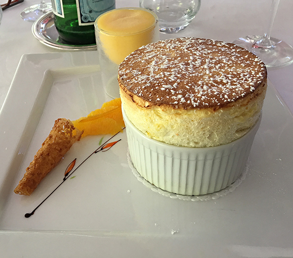 Domaine d'Auriac, Carcassone, Chef Deschamps, Michelin star, gourmet French food