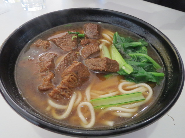 Dumpling Go Go, Taiwan Beef in Noodle Soup, Adelaide