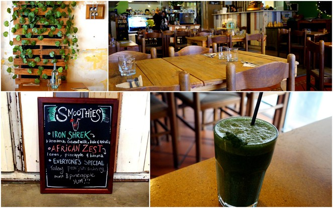 earth's kitchen, organic cafe adelaide, pirie street adelaide, green smoothie