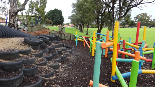 Enright Reserve Nature Park Healy Road Quirky Playgrounds Perth