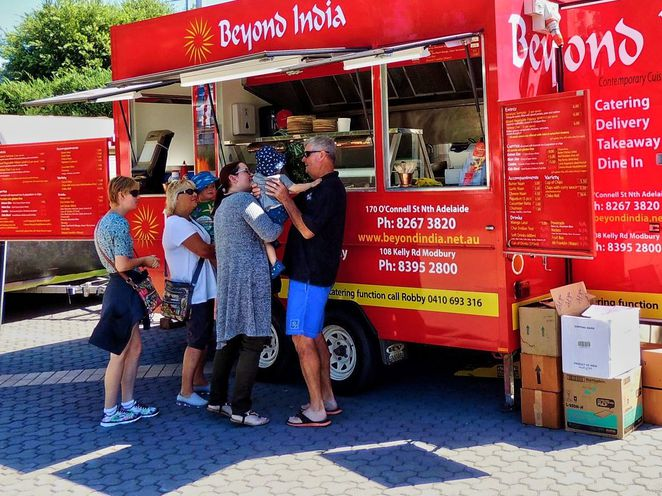 food truck movement, food truck hub, food trucks, street food, food and wine, adelaide showgrounds, south australian, in adelaide, goodwood road, beyond india